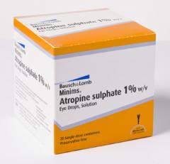 Minims Atropinesulfaat 1% 20x0,5ml