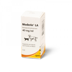 Moderin LA  40 mg/ml  5 ml