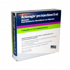 Actovegin 200mg/5ml 5 ampul