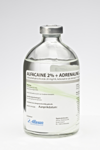 Alfacaine 2% + adrenaline 100 ml