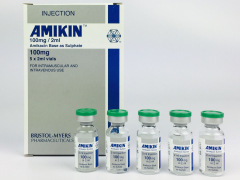 Amikin injection 100 mg 5 x 2 ml
