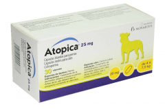 Atopica 25 mg 30 capsules