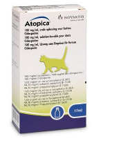 Atopica 100mg/ml Lösung z.Eingeben f.Katzen 17ml