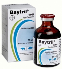 Bayer - Baytril 10%, 50 ml (injectable)