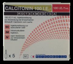 Rotexmedica – Calcitonin 100 I.E., 5 ampoules x 1ml