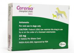 Cerenia 16 mg 4 tabl.