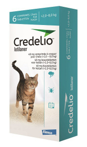 Credelio® 48 mg chewable tablets for cats