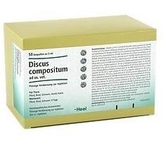 Discus compositum LT ad us. vet. 50 x 5 ml