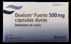 Doxium Fuerte 500mg capsules 60st