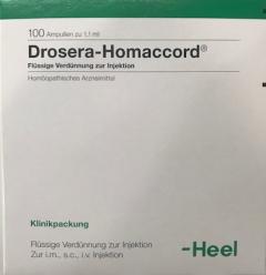 Drosera-Homeaccord 100 x 1,1 ml