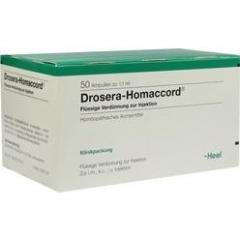 Drosera-Homeaccord 50 x 1,1 ml