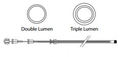 Triple Stage Catheter - 2.5mm x 190cm