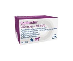 Equibactin 250/50 mg/g orale poeder 10 x 60gr