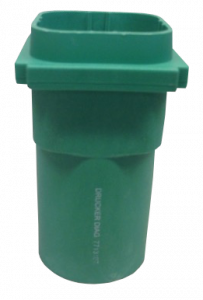 Owl Manor - Green Centrifuge Bucket, 2 pcs