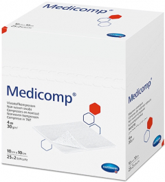Medicomp 10 x 10cm 4ply sterile 25x2