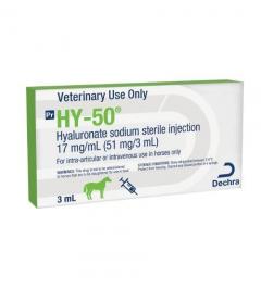 Dechra - HY-50 17 mg/ml, 3 ml EU