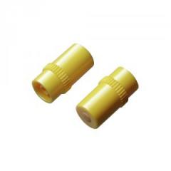 IN-stopper yellow sealing cap luer lock Male (100 pcs)