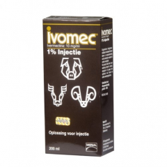 Merial - Ivomec 1% injection, 200ml