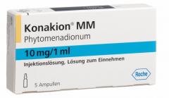 Konakion mm 10 mg/1 ml 5 ampullen