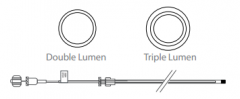 Two Stage Catheter - 2.0mm x 250cm
