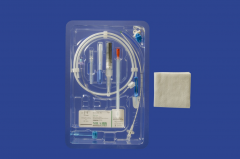 Mila International - Guidewire Catheter Kit - single lumen,14 G x 20 cm