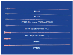 PinkPoly™ Catheter 18Fr x 16 inch (41cm) with Funnel Hub(1pc)