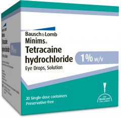 Minims Tetracaine HCl 1% 20x0,5ml