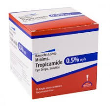 Minims Tropicamide 0,5% 20x0,5ml
