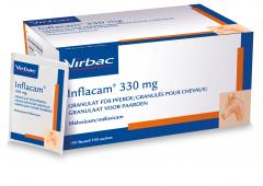 Inflacam 330 mg. granulaat paard, 100 sachets