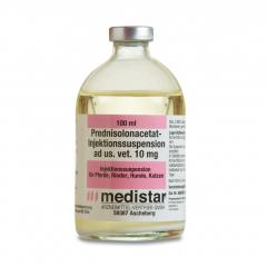 Prednisolonacetat-Inj.-Susp. ad us. vet. 10 mg/ml 100 ml