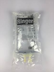 Ringer 1000 ml Viaflo Holland