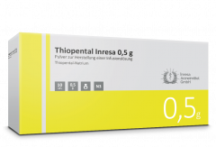Thiopental Inresa 500 mg 10x20 ml