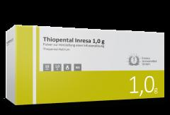 Thiopental Inresa 1,0 g 10x20 ml
