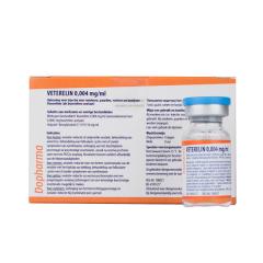 Veterelin 0,004 mg/ml inj. 5 x 10ml